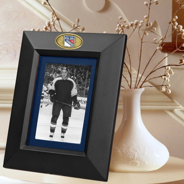 New York Rangers BLACK Portrait Picture Frame