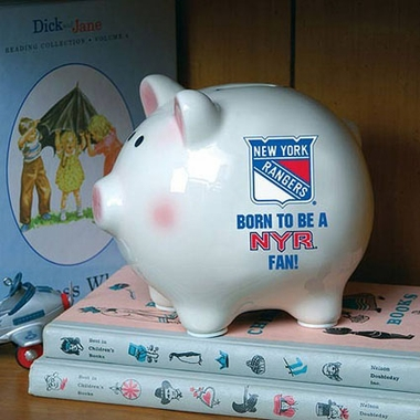 New York Rangers (Born to Be) Piggy Bank