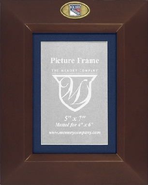 New York Rangers BROWN Portrait Picture Frame