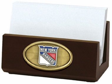 New York Rangers Business Card Holder