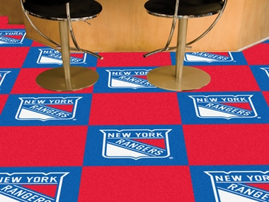 New York Rangers Carpet Tiles
