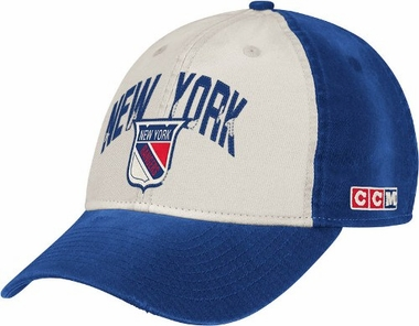 New York Rangers CCM Throwback Adjustable Slouch Hat