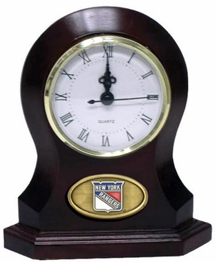 New York Rangers Desk Clock