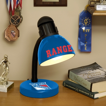 New York Rangers Dorm Lamp