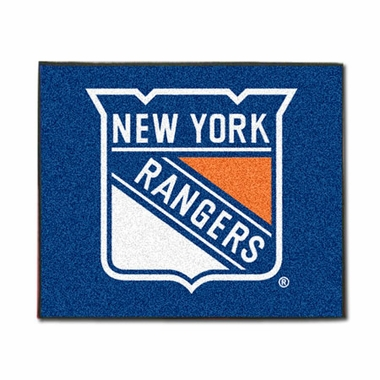 New York Rangers Economy 5 Foot x 6 Foot Mat