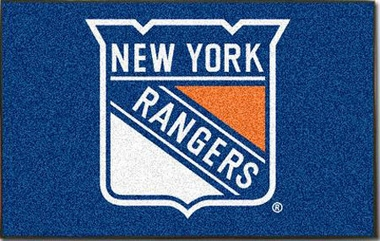 New York Rangers Economy 5 Foot x 8 Foot Mat