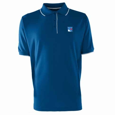 New York Rangers Mens Elite Polo Shirt (Team Color: Royal)
