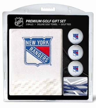 New York Rangers Embroidered Towel Gift Set