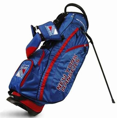 New York Rangers Fairway Stand Bag