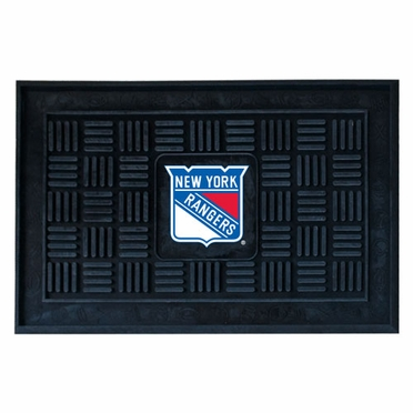 New York Rangers Heavy Duty Vinyl Doormat