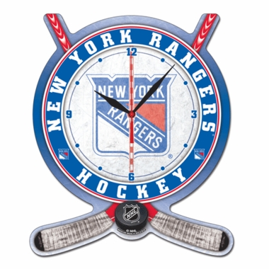 New York Rangers High Definition Wall Clock