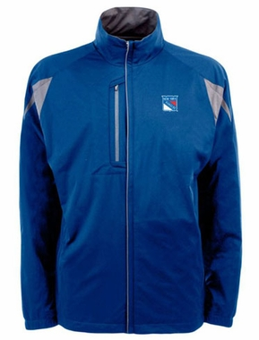 New York Rangers Mens Highland Water Resistant Jacket (Team Color: Royal)