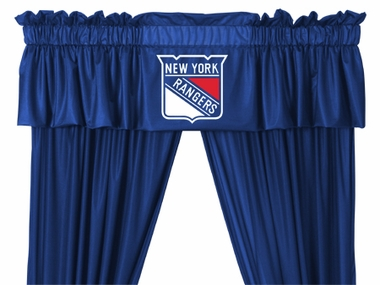 New York Rangers Logo Jersey Material Valence