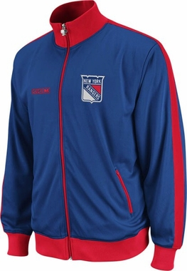 New York Rangers Lord Stanley Full Zip Championship Track Jacket