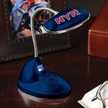 New York Rangers Mini LED Desk Lamp