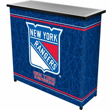New York Rangers Portable Bar