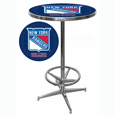 New York Rangers Pub Table