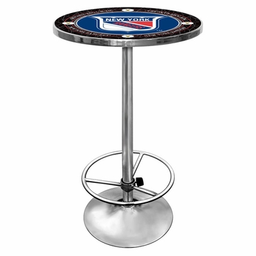 New York Rangers Pub Table (Vintage)