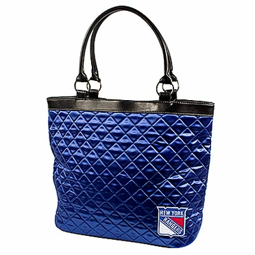 New York Rangers Quilted Tote