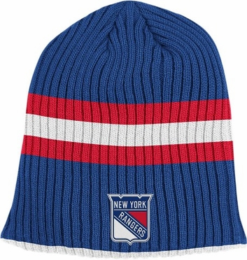 New York Rangers Retro Reversible Cuffless Knit Hat