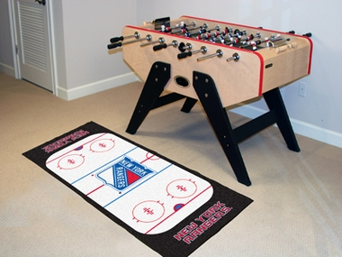 New York Rangers Rink Runner Rug