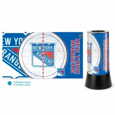 New York Rangers Rotating Lamp