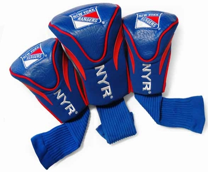 New York Rangers Set of Three Contour Headcovers
