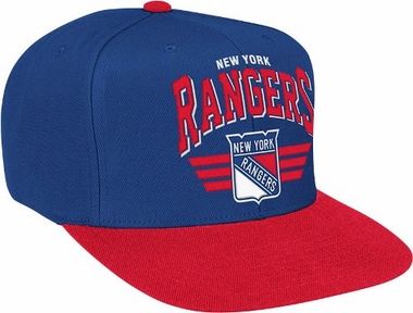 New York Rangers Stadium Throwback Snapback Hat