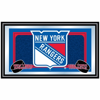 New York Rangers Team Logo Bar Mirror