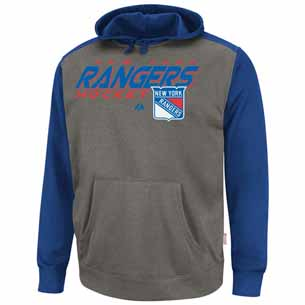 New York Rangers Therma Base Blocker Hooded Performance Sweatshirt