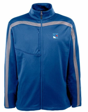 New York Rangers Mens Viper Full Zip Performance Jacket (Team Color: Royal)