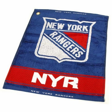 New York Rangers Woven Golf Towel