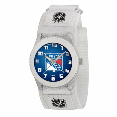 New York Rangers Youth Rookie Watch (White)