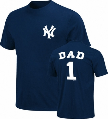 New York Yankees #1 Dad T-Shirt