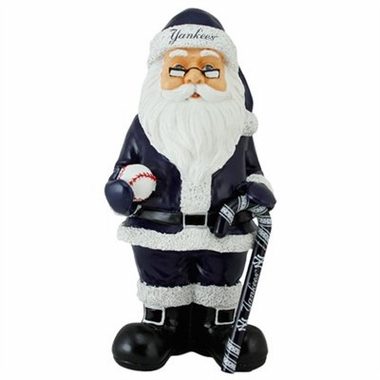 New York Yankees 11 Inch Resin Team Santa Figurine