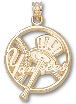 New York Yankees 14K Gold Pendant