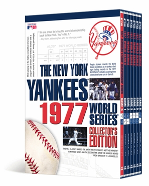 New York Yankees 1977 World Series Collector's Edition DVD Set