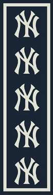 "New York Yankees 2'1"" x 7'8"" Premium Runner Rug"