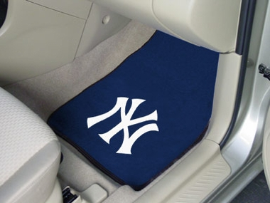 New York Yankees 2 Piece Car Mats