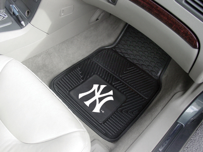 New York Yankees 2 Piece Heavy Duty Vinyl Car Mats