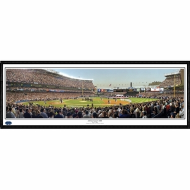 New York Yankees 2008 MLB AllStar Game Framed Panoramic Print