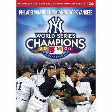 New York Yankees 2009 World Series DVD
