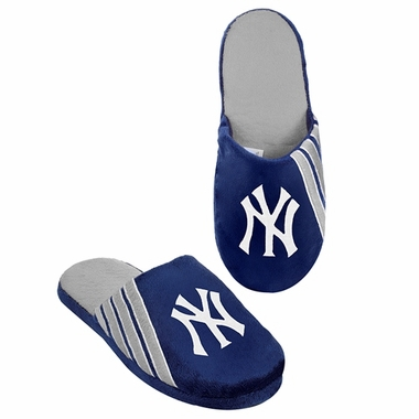 New York Yankees 2012 Team Stripe Logo Slippers