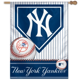 "New York Yankees 27"" x 37"" Banner"