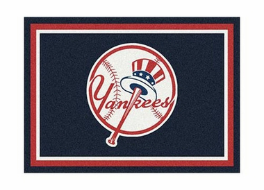 "New York Yankees 3'10"" x 5'4"" Premium Spirit Rug"
