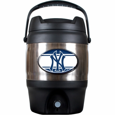 New York Yankees 3 Gallon Stainless Steel Jug