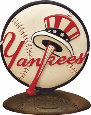 New York Yankees 3D Baseball Logo