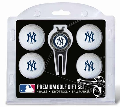 New York Yankees 4 Ball and Tool Gift Set