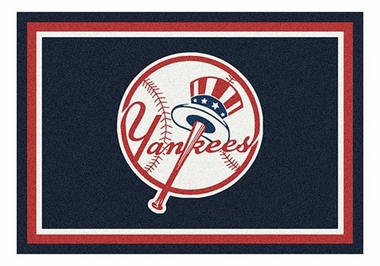 "New York Yankees 5'4"" x 7'8"" Premium Spirit Rug"