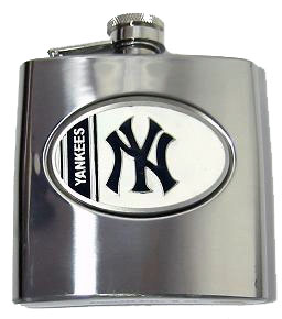 New York Yankees 6 oz. Hip Flask
